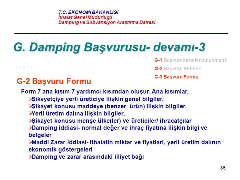 G. Damping Başvurusu- devamı-3