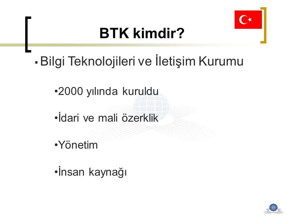 BTK kimdir 2000 yılında kuruldu İdari ve mali özerklik Yönetim