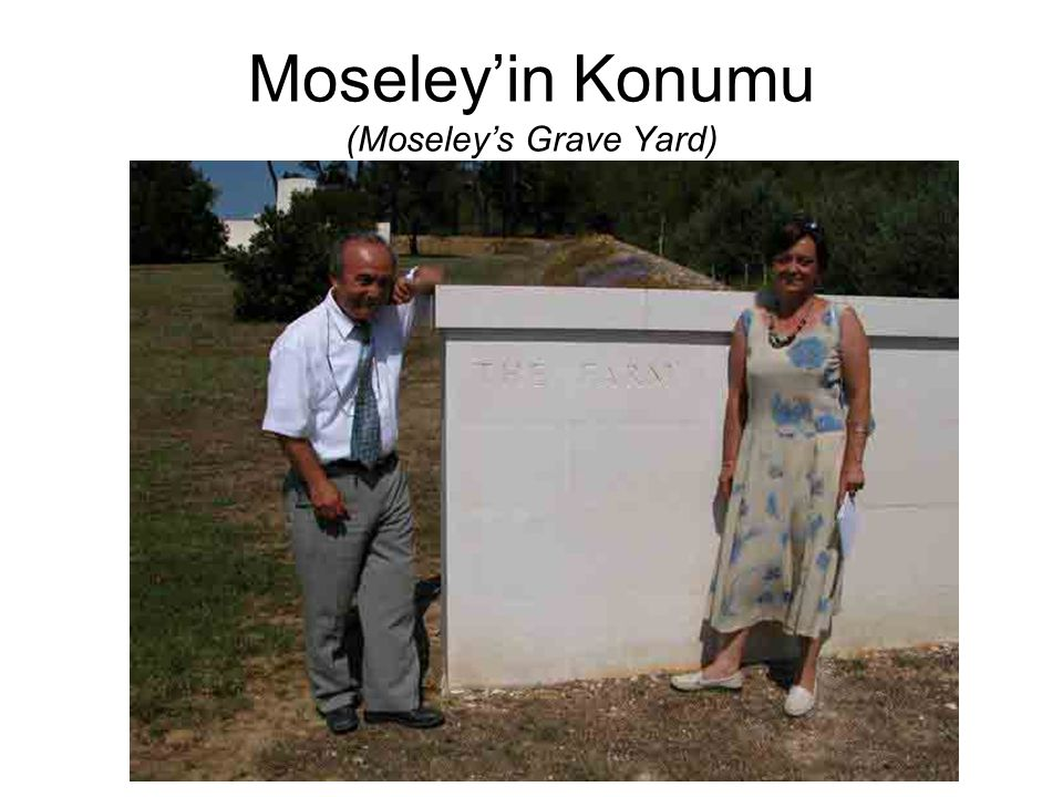 Moseley'in Konumu (Moseley's Grave Yard)