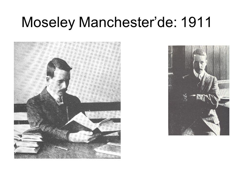 Moseley Manchester'de: 1911