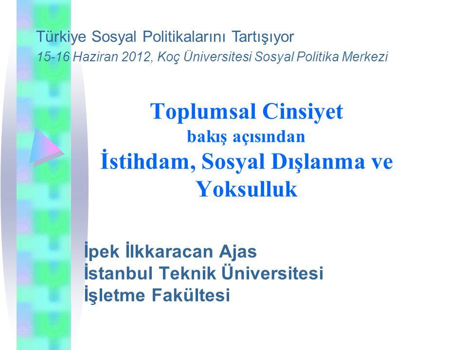 İpek İlkkaracan Ajas İstanbul Teknik Üniversitesi İşletme Fakültesi