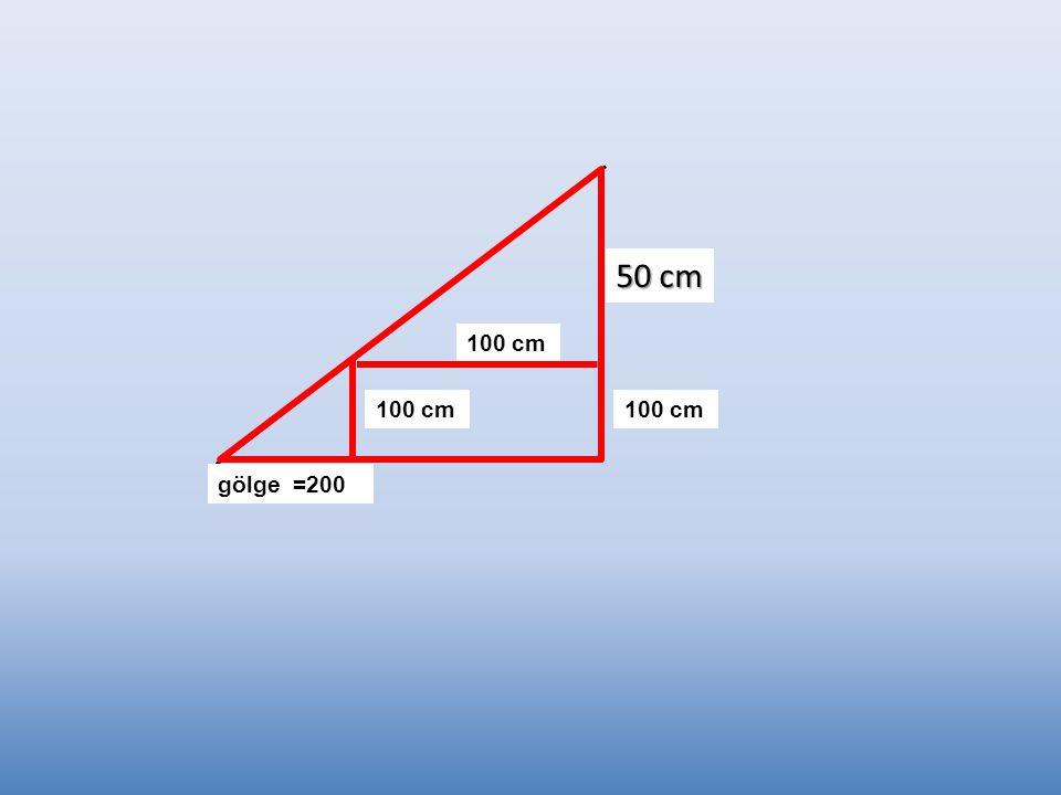 50 cm 100 cm 100 cm 100 cm gölge =200