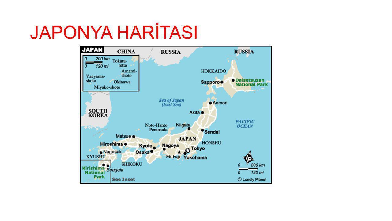 JAPONYA HARİTASI