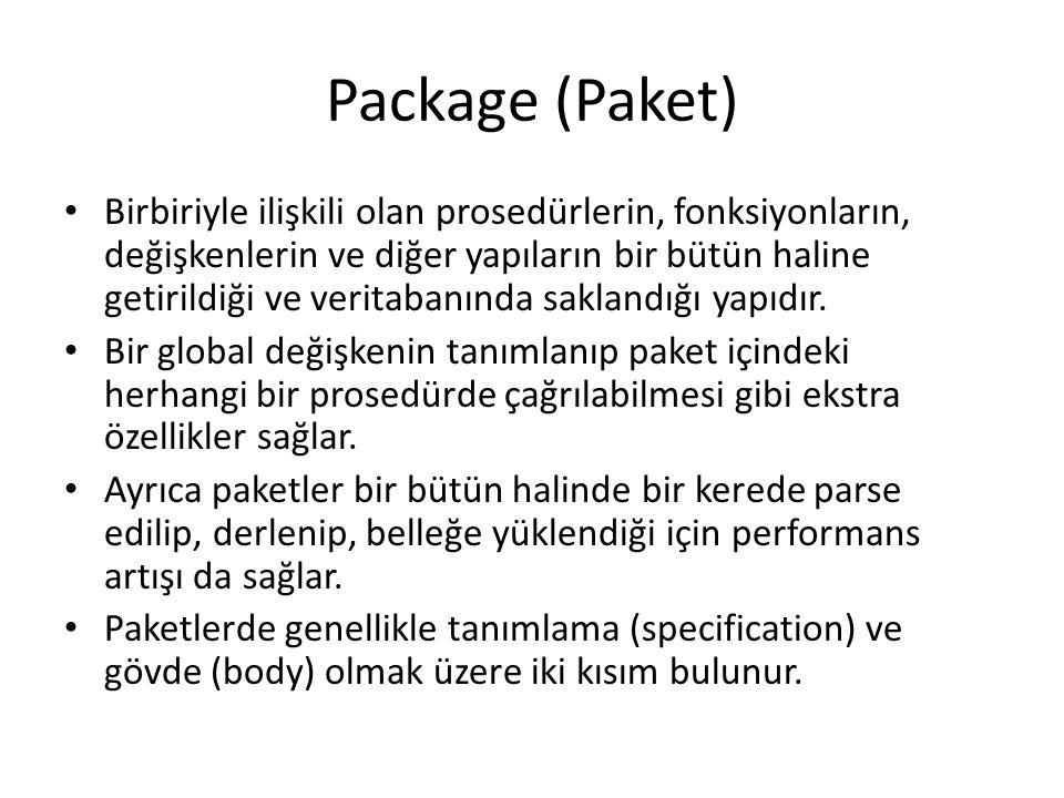 Package (Paket)