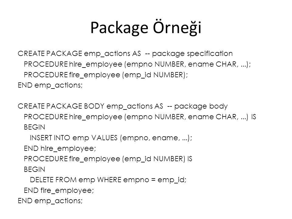 Package Örneği