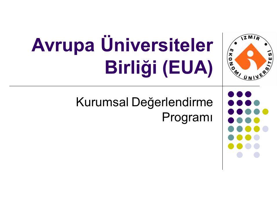 Avrupa Üniversiteler Birliği (EUA)