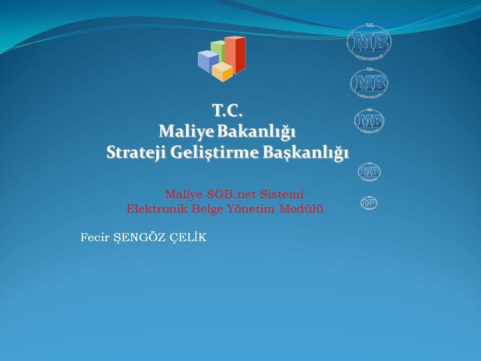 T.C. Maliye Bakanlığı Strateji Geliştirme Başkanlığı