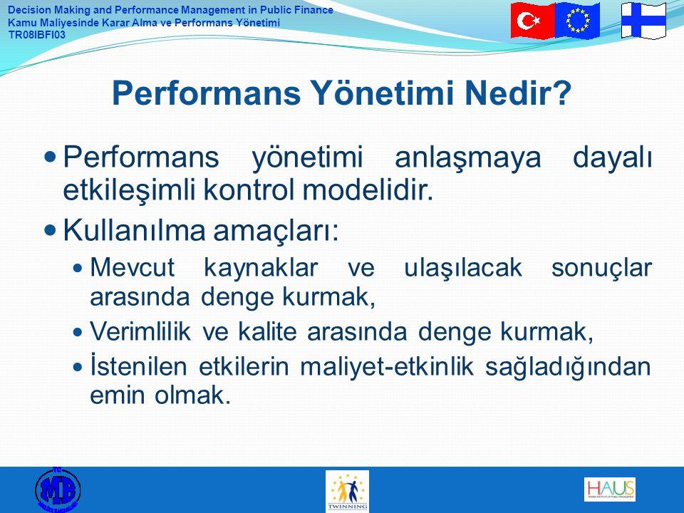 Performans Yönetimi Nedir