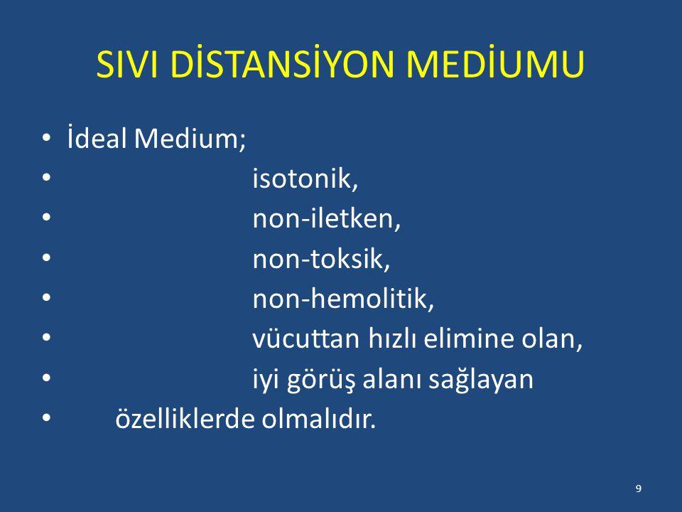 SIVI DİSTANSİYON MEDİUMU