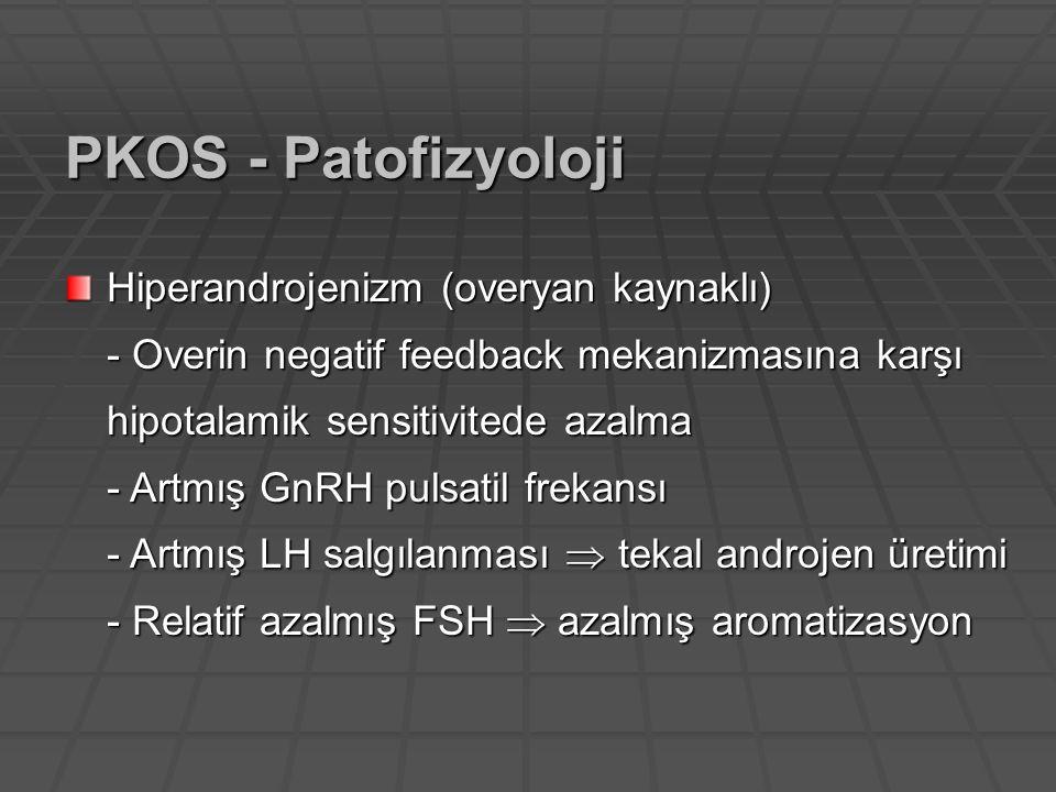 PKOS - Patofizyoloji Hiperandrojenizm (overyan kaynaklı)
