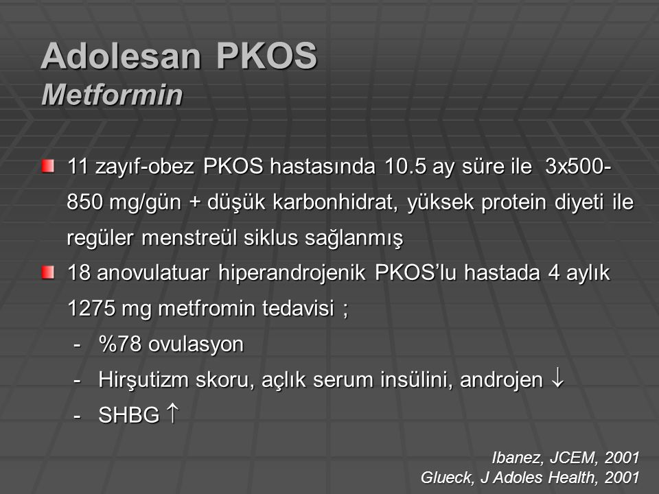 Adolesan PKOS Metformin