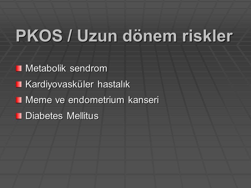 PKOS / Uzun dönem riskler