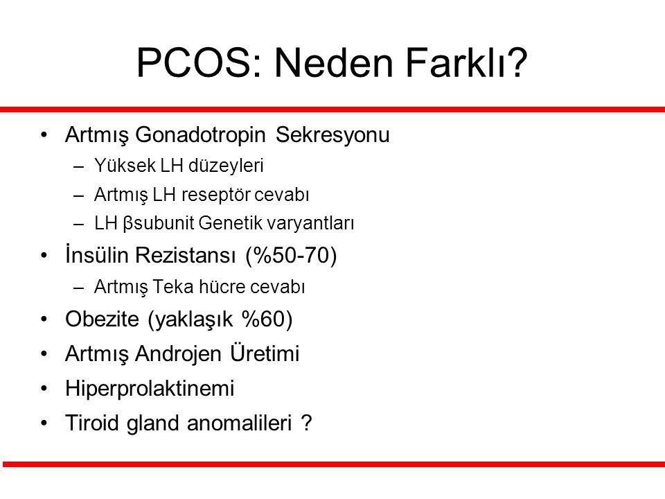 PCOS: Neden Farklı Artmış Gonadotropin Sekresyonu