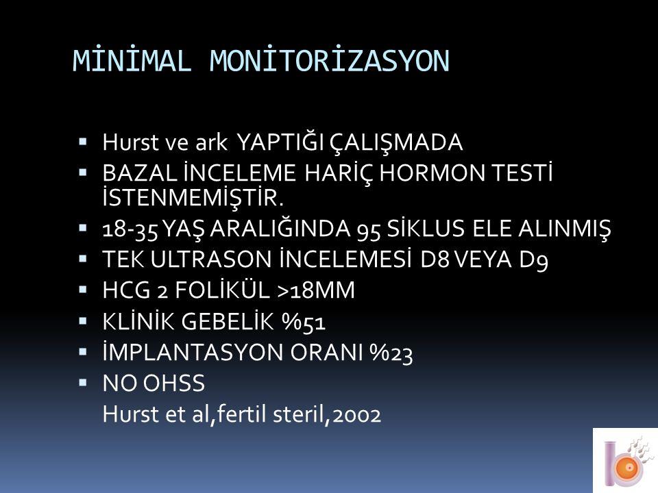 MİNİMAL MONİTORİZASYON