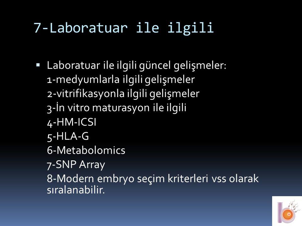 7-Laboratuar ile ilgili