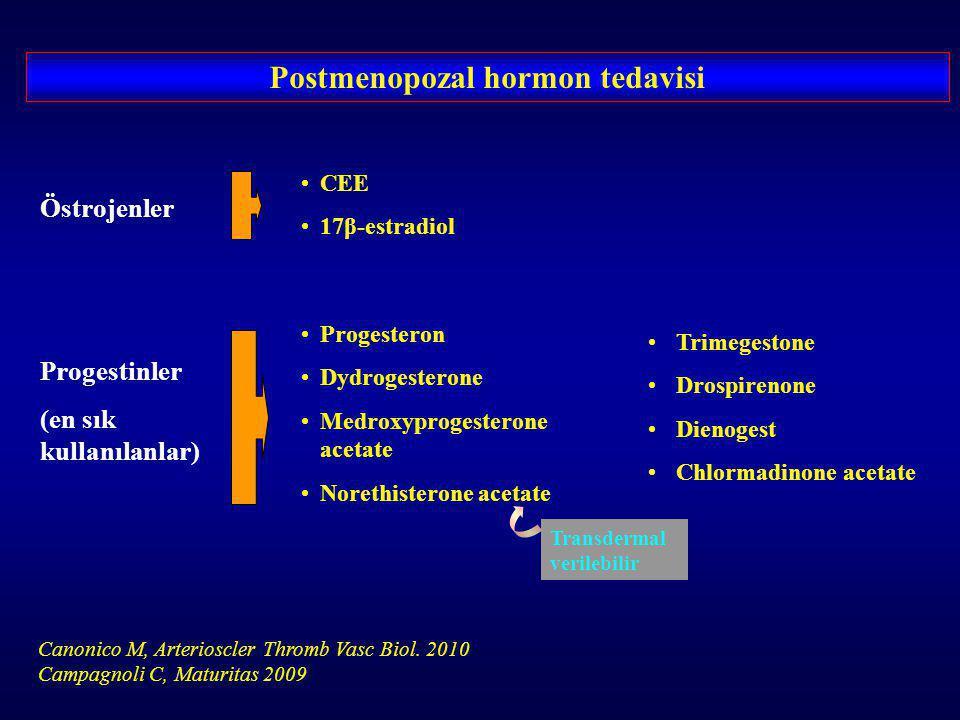 Postmenopozal hormon tedavisi