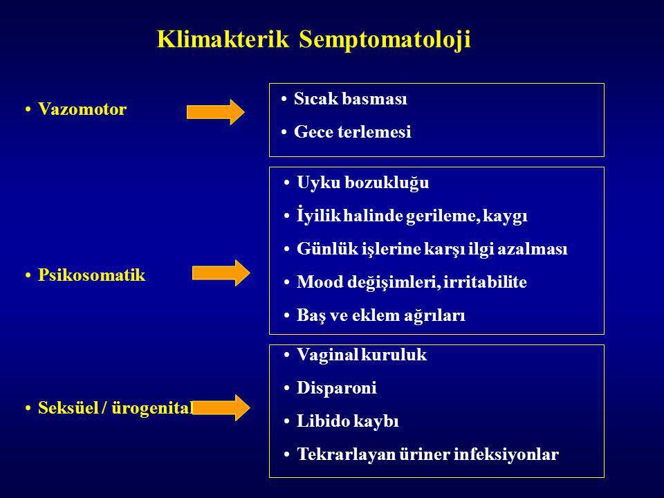 Klimakterik Semptomatoloji