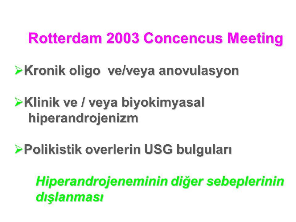 Rotterdam 2003 Concencus Meeting