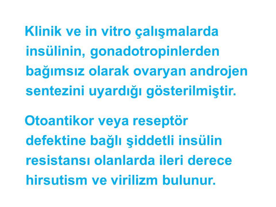 Klinik ve in vitro çalışmalarda