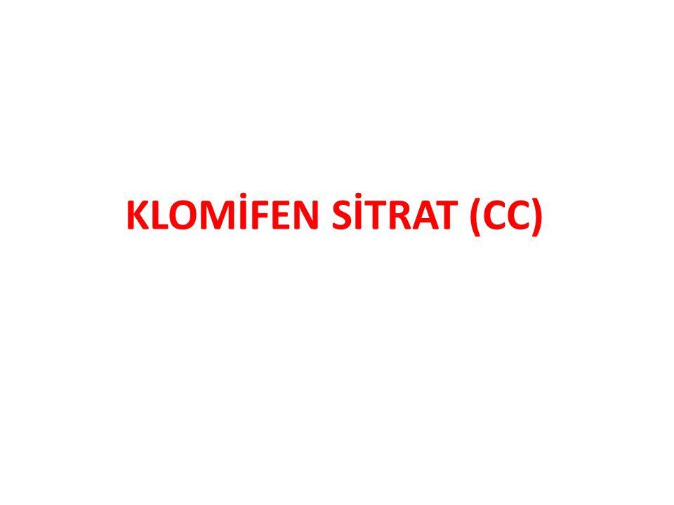 KLOMİFEN SİTRAT (CC)