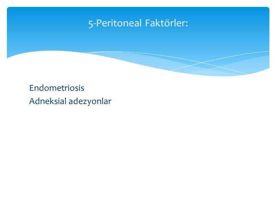5-Peritoneal Faktörler: