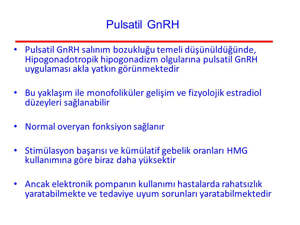 Pulsatil GnRH