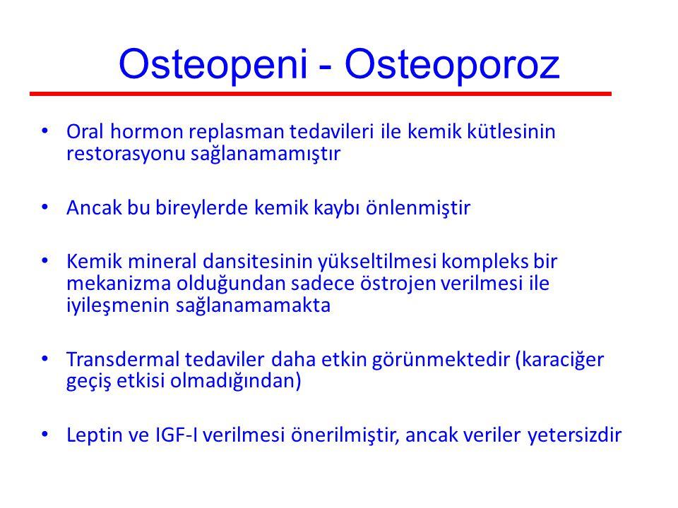 Osteopeni - Osteoporoz