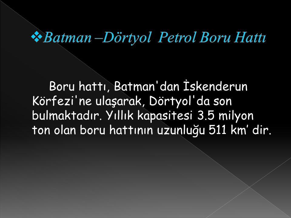 Batman –Dörtyol Petrol Boru Hattı