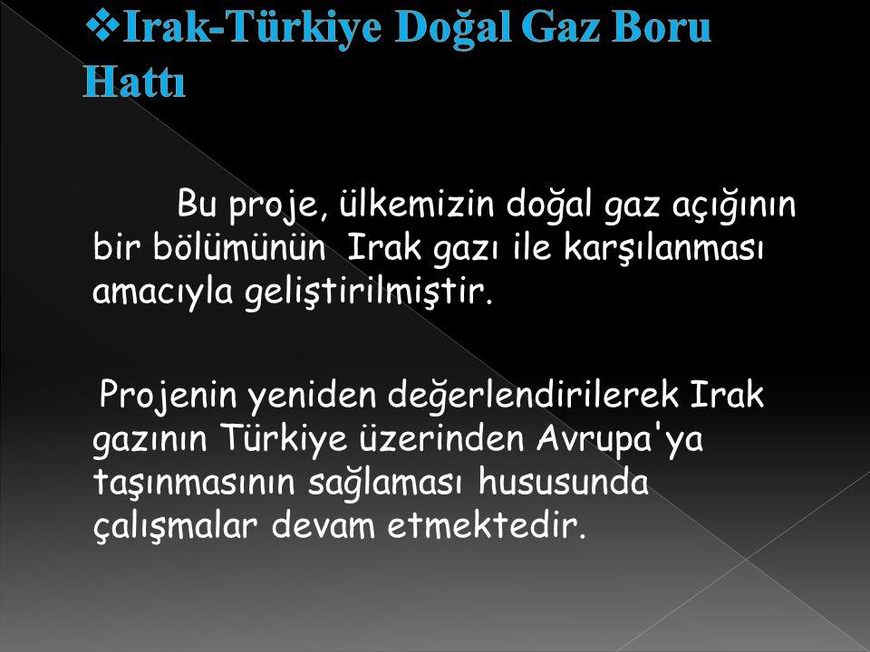 Irak-Türkiye Doğal Gaz Boru Hattı
