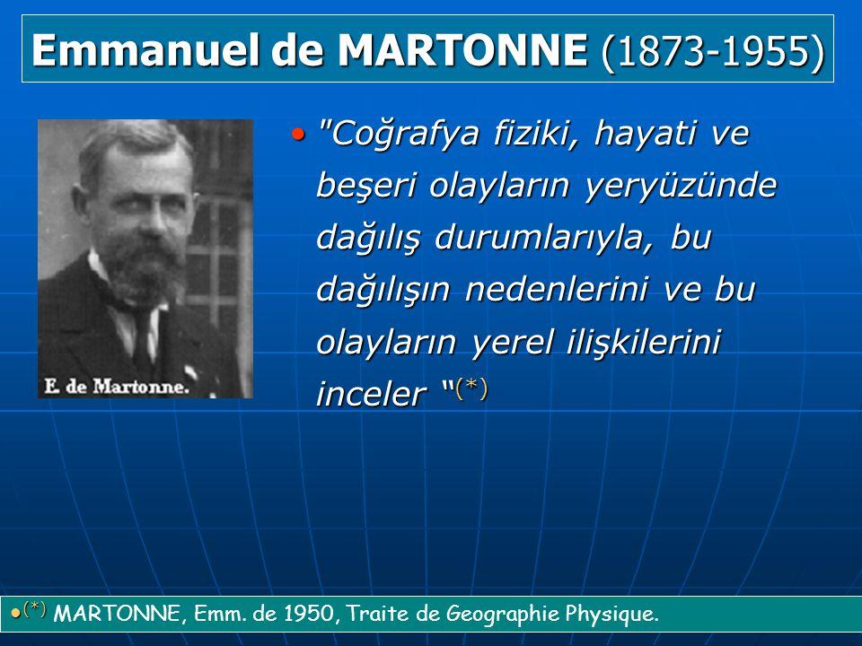 Emmanuel de MARTONNE (1873-1955)