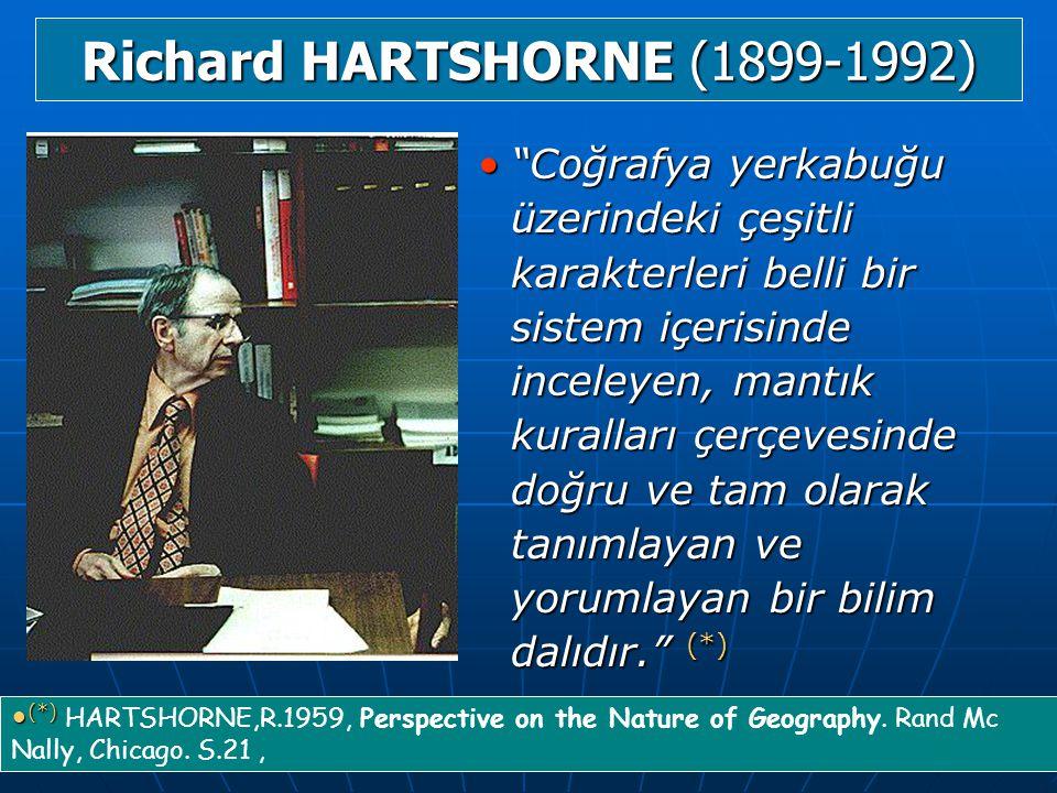 Richard HARTSHORNE (1899-1992)