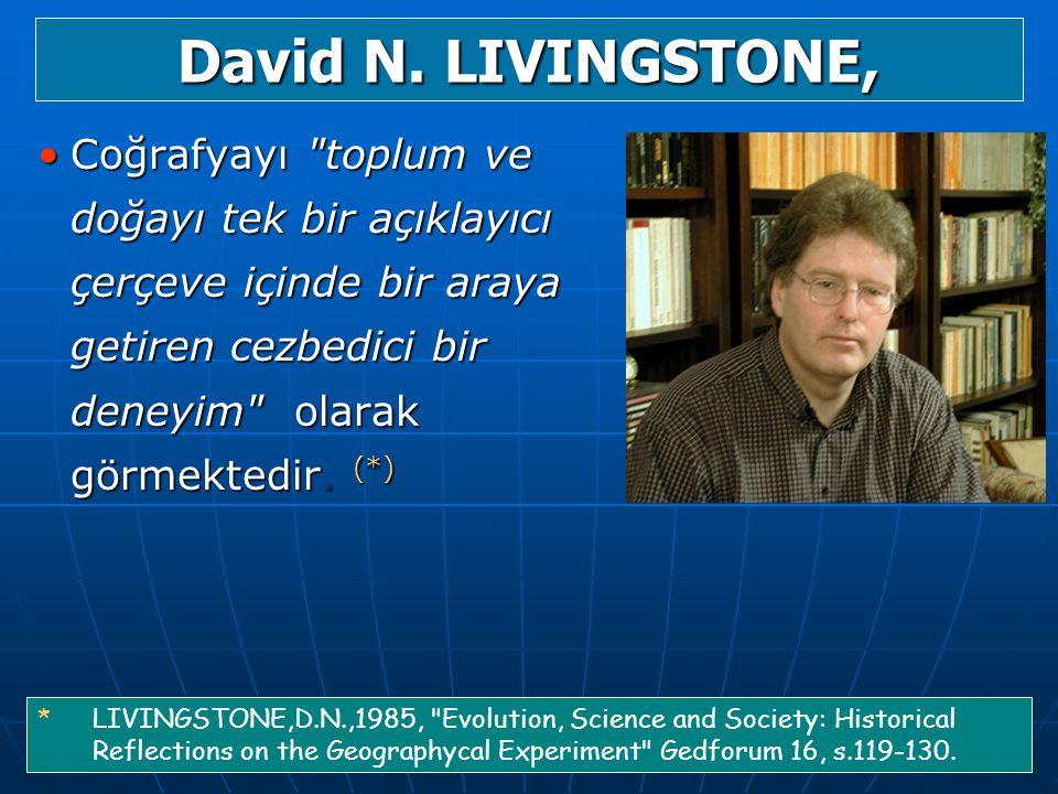 David N. LIVINGSTONE,