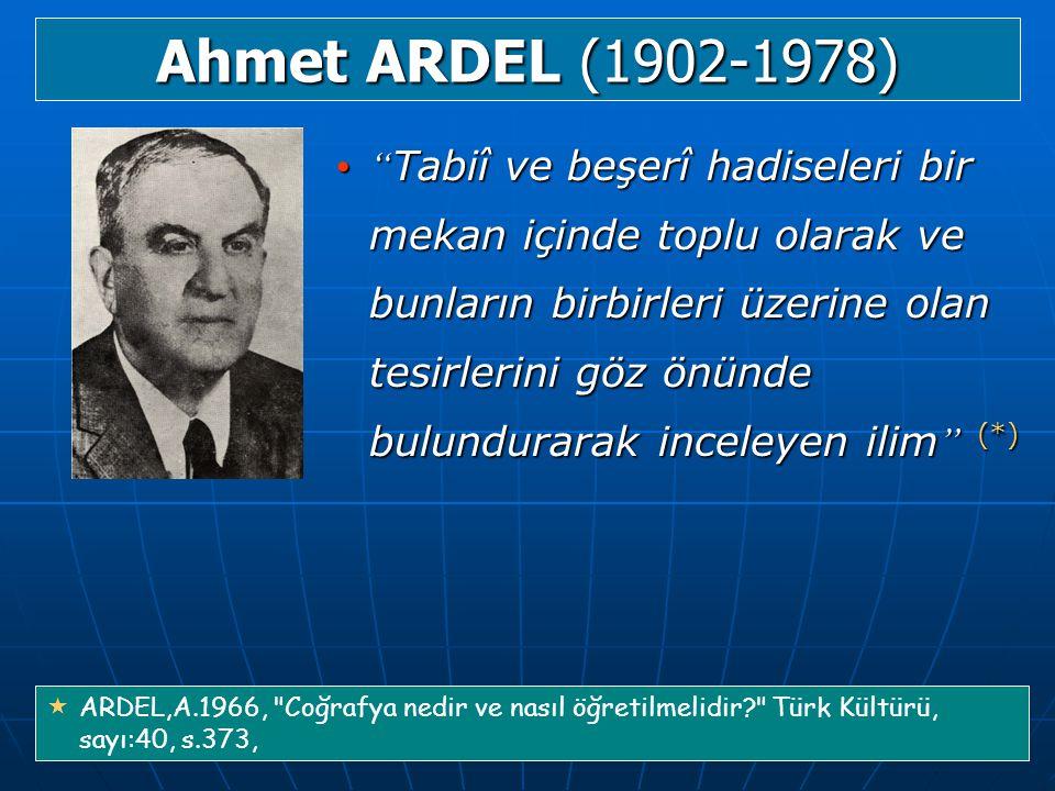 Ahmet ARDEL (1902-1978)