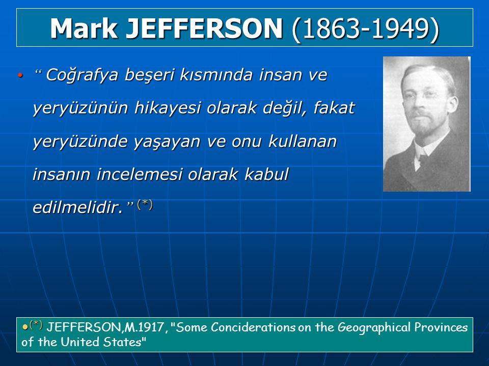 Mark JEFFERSON (1863-1949)