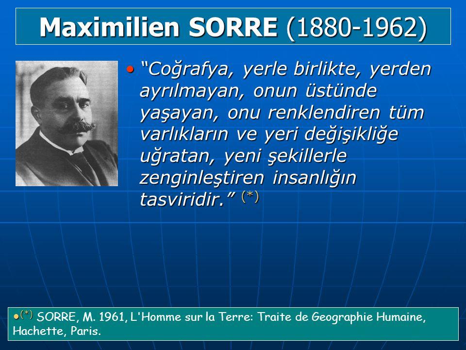 Maximilien SORRE (1880-1962)
