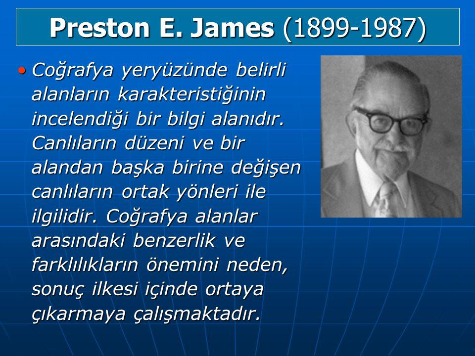 Preston E. James (1899-1987)