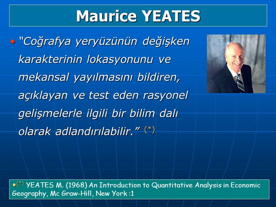 Maurice YEATES