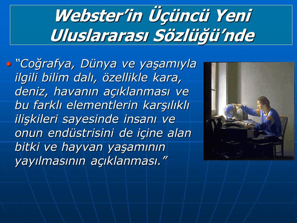 Webster'in Üçüncü Yeni Uluslararası Sözlüğü'nde