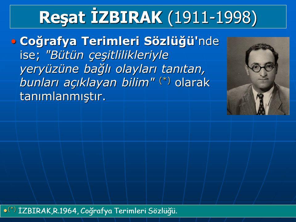 Reşat İZBIRAK (1911-1998)