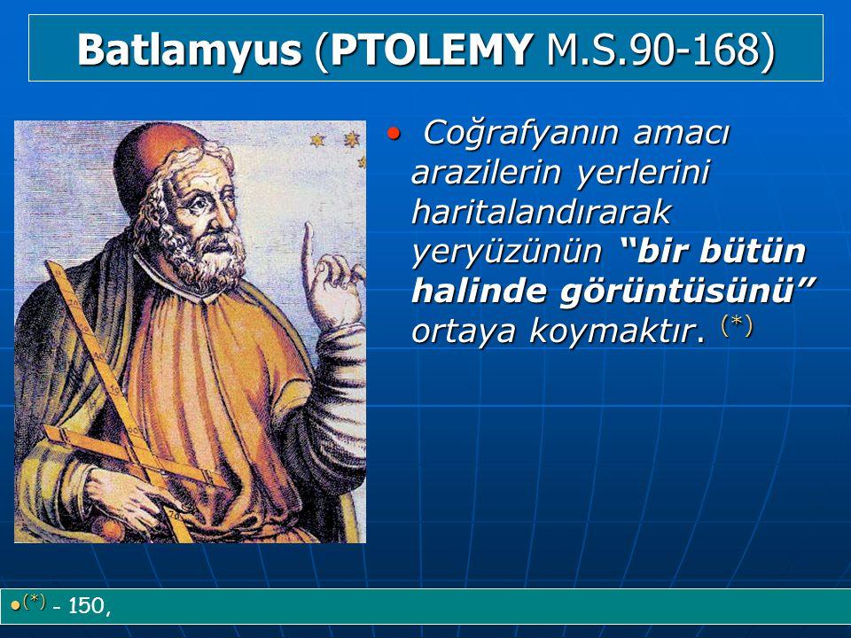 Batlamyus (PTOLEMY M.S.90-168)