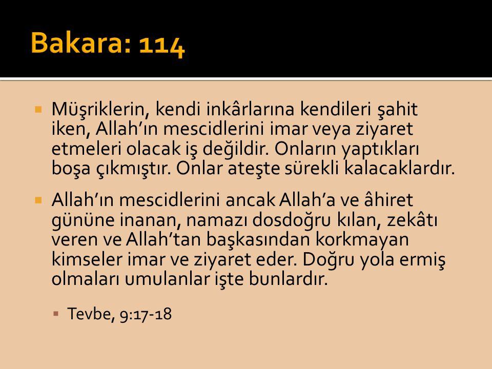 Bakara: 114