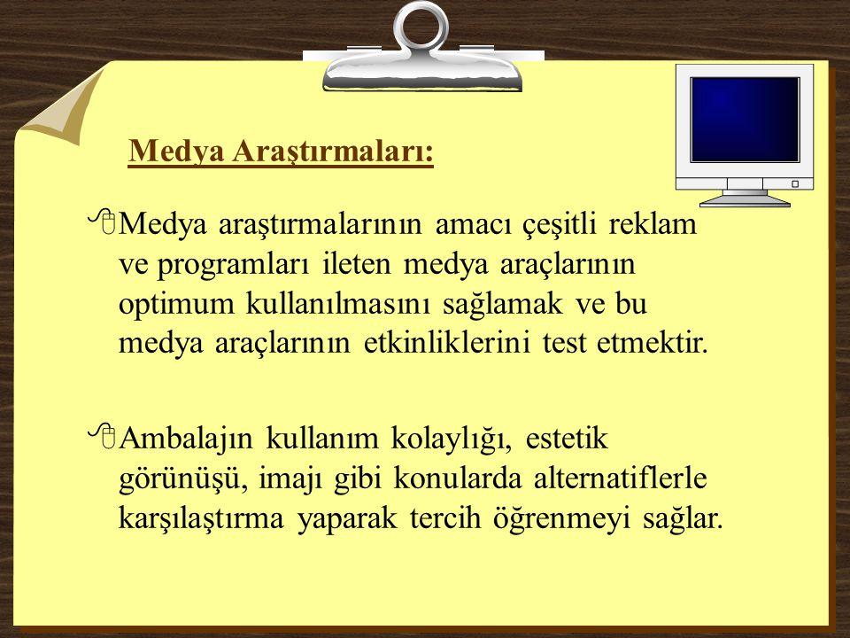 Medya Araştırmaları: