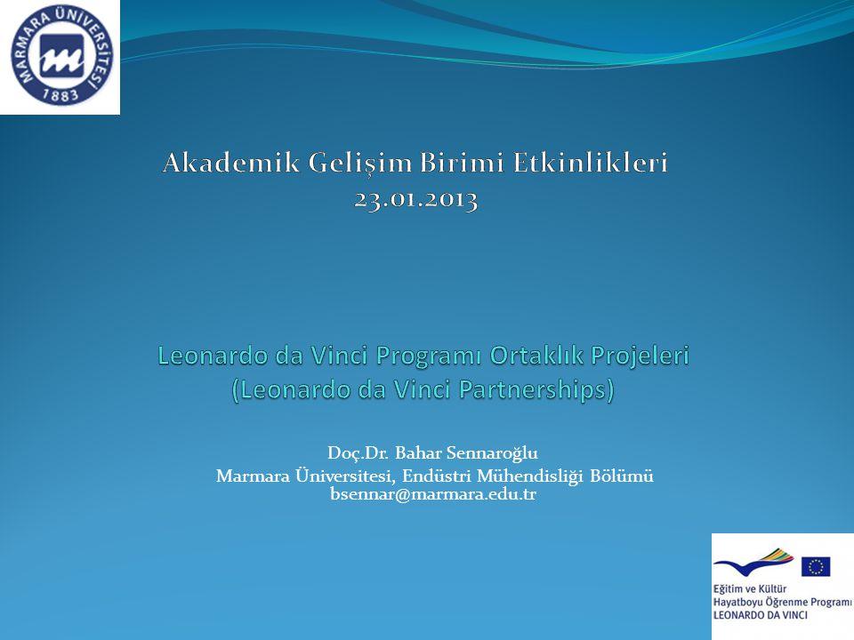 Akademik Gelişim Birimi Etkinlikleri 23.01.2013