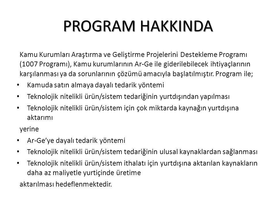 PROGRAM HAKKINDA