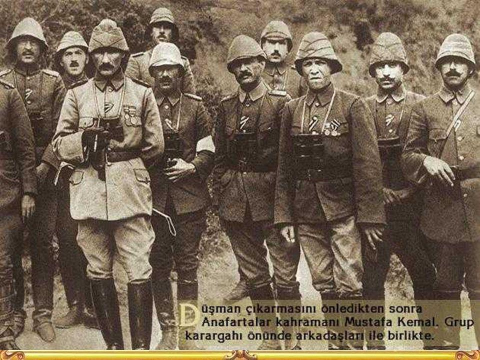 Mustafa Kemal buradaki başarılarından sonra Albaylığa terfi etmiştir