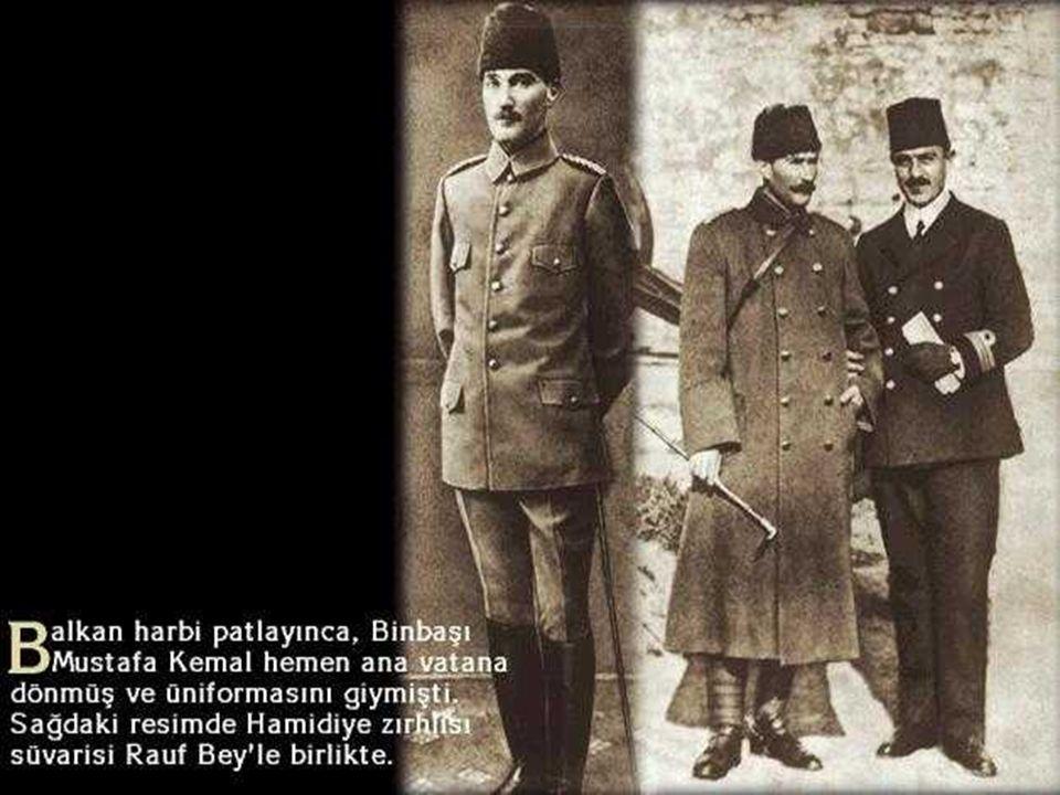 Balkan Devletlerinin Gelibolu tarafından çıkarma yapma ihtimaline karşı buraya görevlendirilmiştir