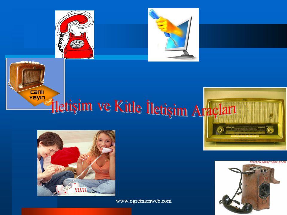 İletişim ve Kitle İletişim Araçları