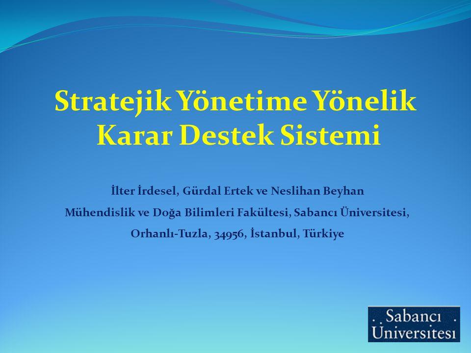 Stratejik Yönetime Yönelik