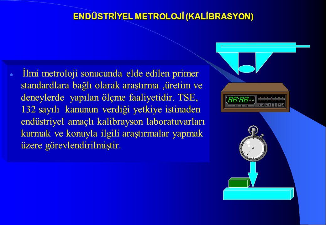 ENDÜSTRİYEL METROLOJİ (KALİBRASYON)
