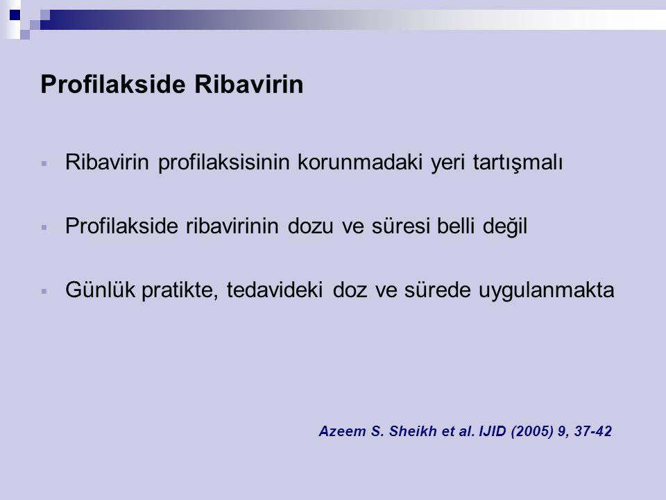 Profilakside Ribavirin